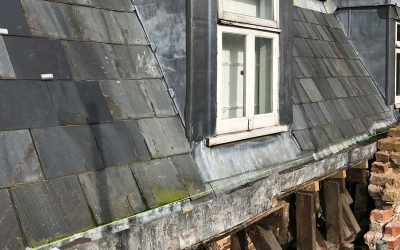 Roof repairs needed